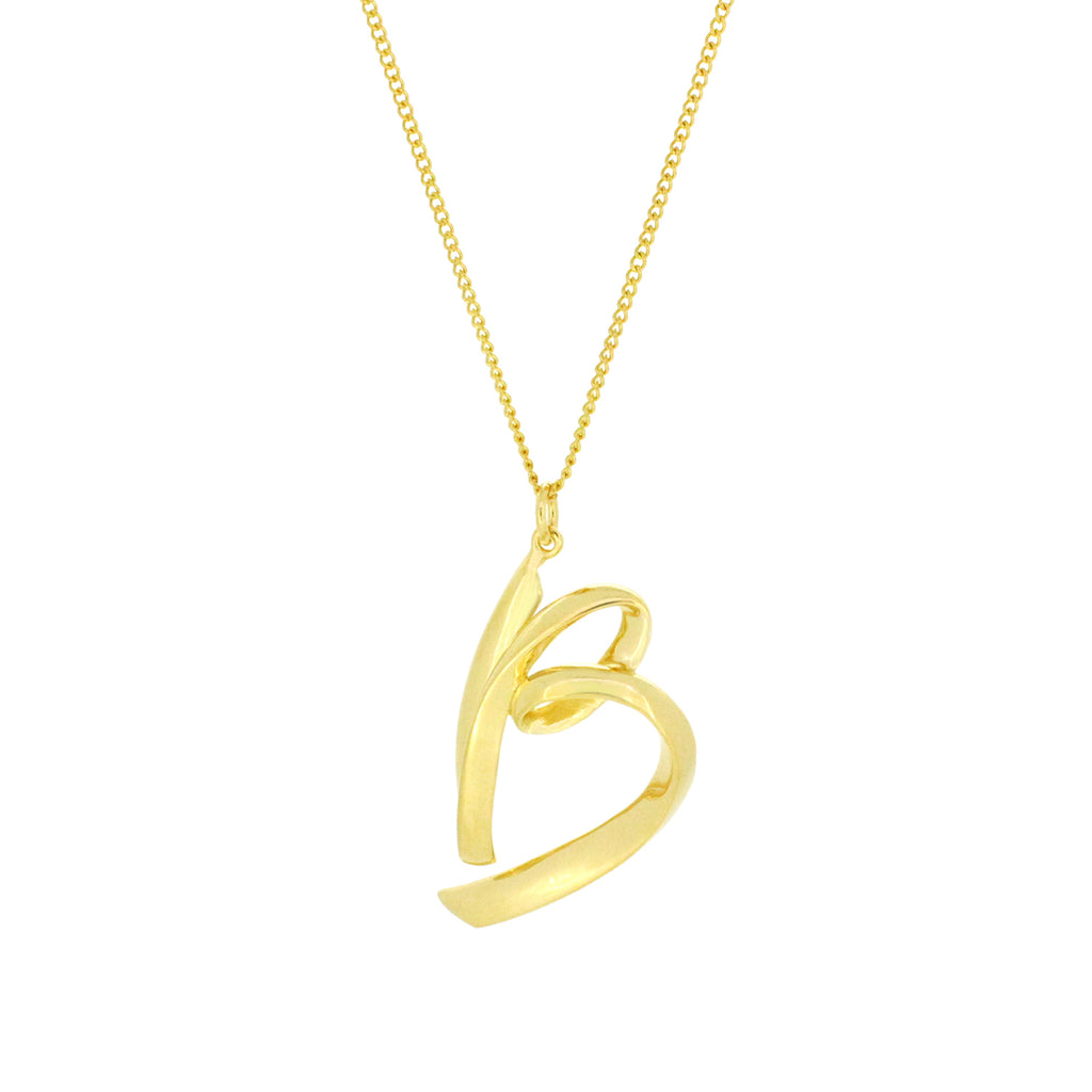 Alphabet B Necklace