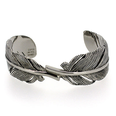 Feather Bangle Black-Black | FEATHER