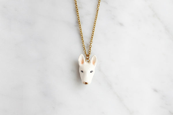Bubu Bullterrier Necklace // Dog