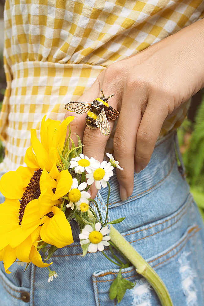 Bee BumbleBee Ring