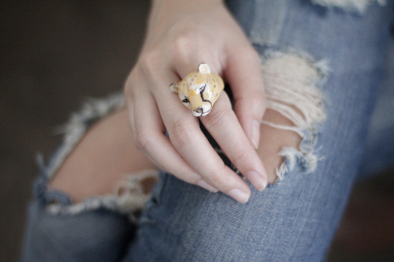 Cheetah Ring