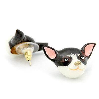 Choco Chihuahua Earrings