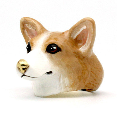 Latte Corgi Ring | DOGS