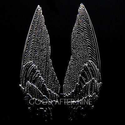 Demon Wings Ring Black