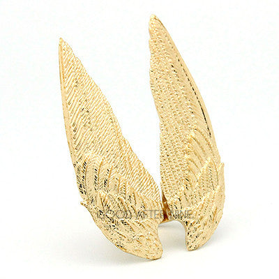 Demon Wings Ring Gold
