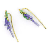 Lavender Climbers Earrings | BLOOM