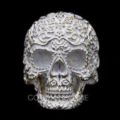 Filigree Skull Gold Ring | FILIGREE SKULL