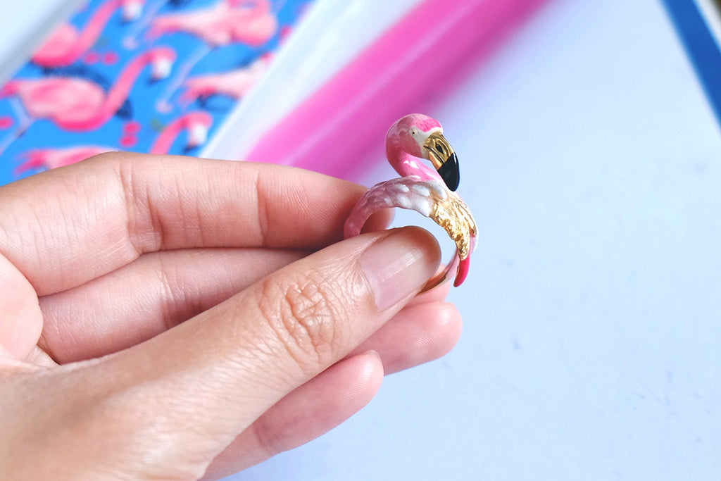 Flamingo Ring | BALLERINE BIRD