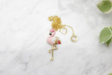 Flamingo Necklace | BALLERINE BIRD