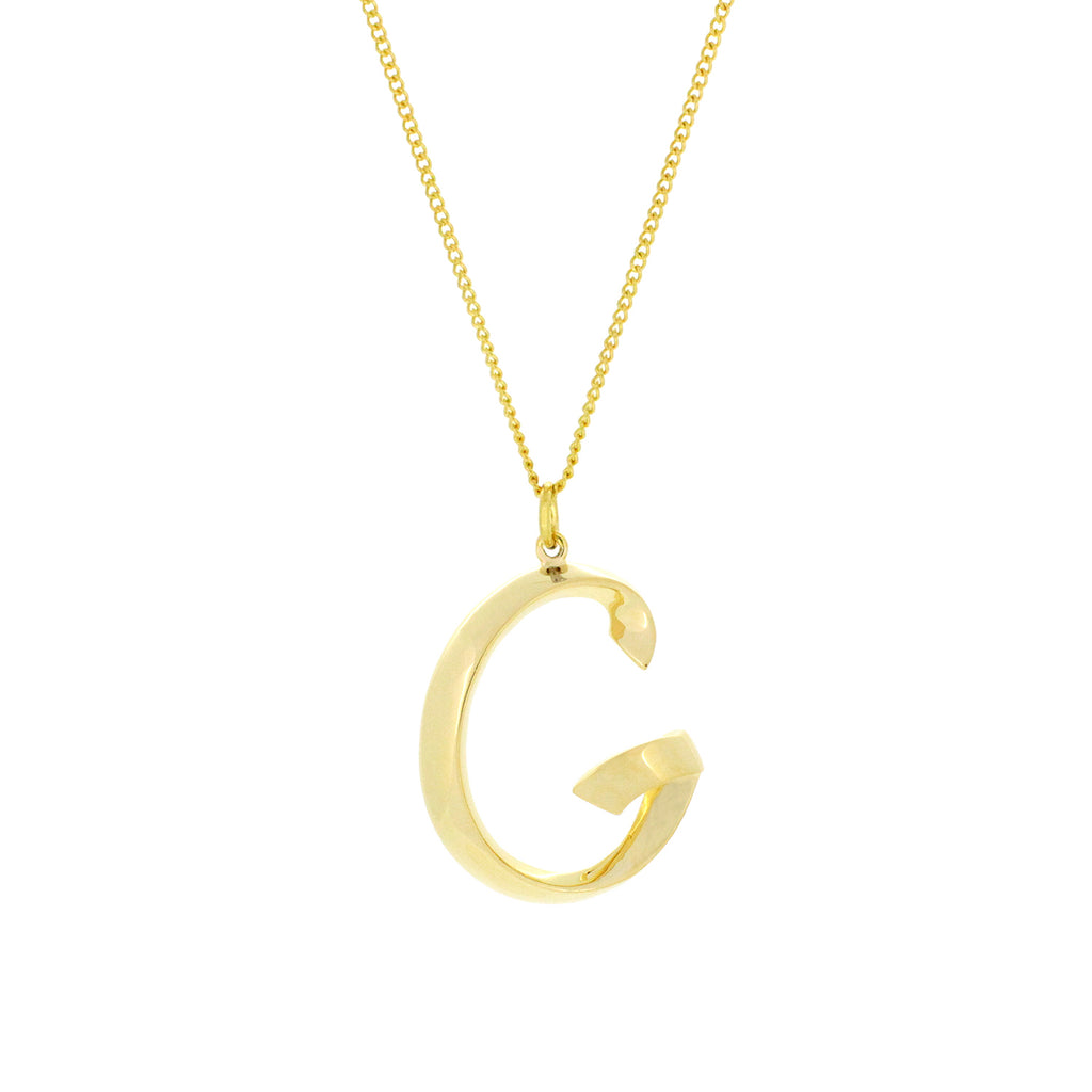 Alphabet G Necklace