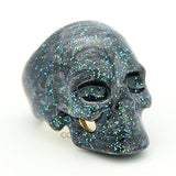Galactic Earth Skull Ring | SKULLS