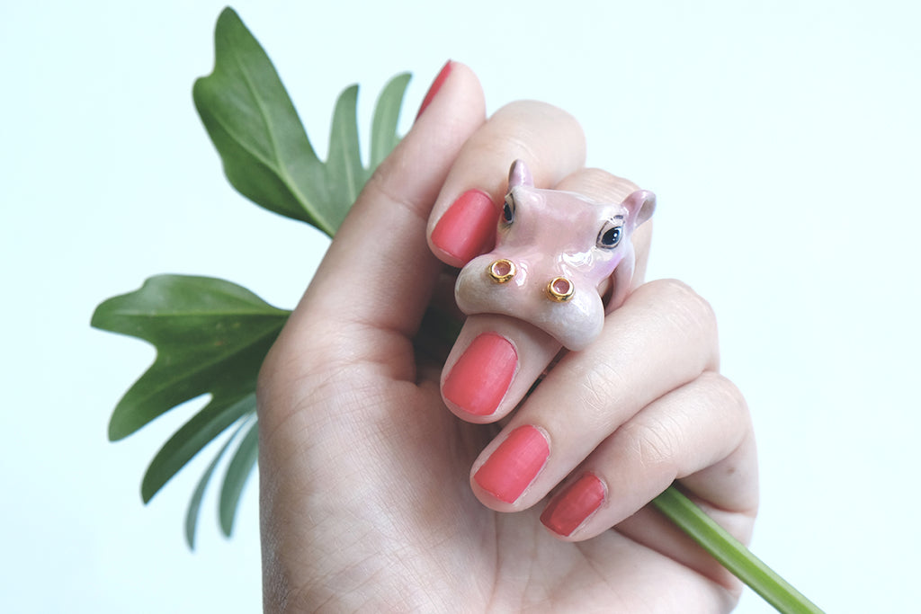 Happy Hippo Ring | SAFARICA