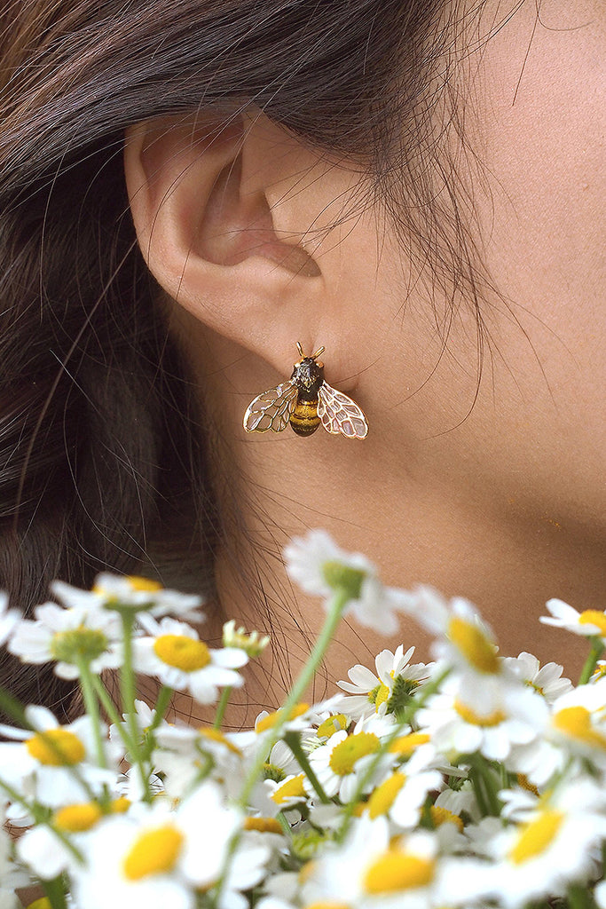 Bee Honey Bee earrings