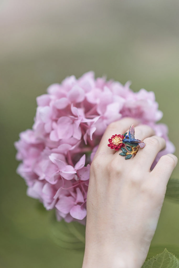 Humming Melody Statement Ring | HUMMING MELODY