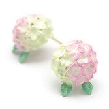 Hydrangea Pink Earrings