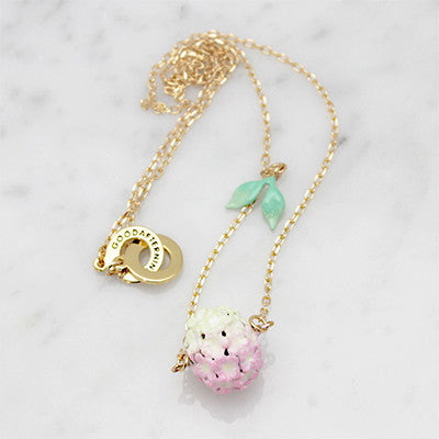 Hydrangea Pink Necklace | BLOOM