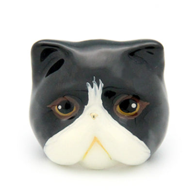 Jumpoon Black and White Cat Ring | CATS