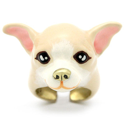 Creamy Chihuahua Ring | DOGS