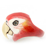Scarlet Macaw Ring //  Sky Dancer