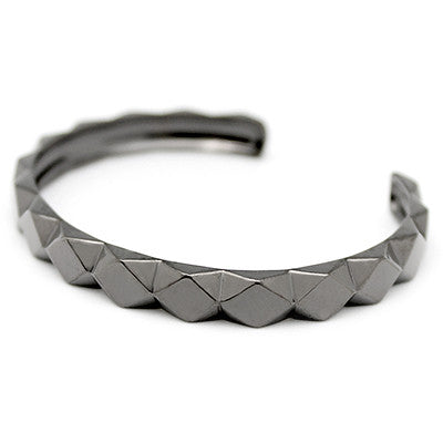 Ballad of Pyramid Slim Black Bangle