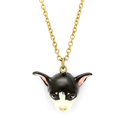 Choco Chihuahua Necklace
