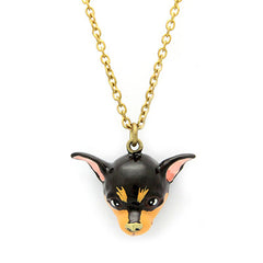 Brownie Chihuahua Necklace | DOGS