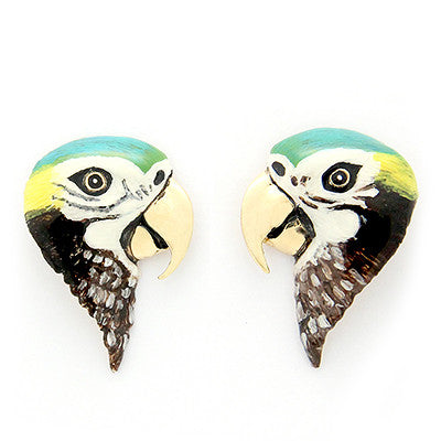 Arara Macaw Earrings