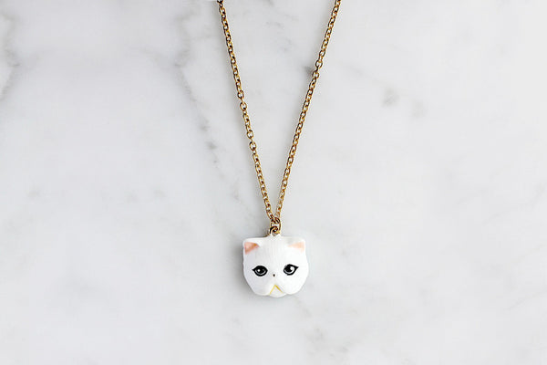 Jumpee Cat Necklace