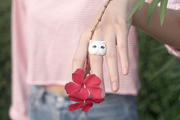 Jumpee Cat Ring