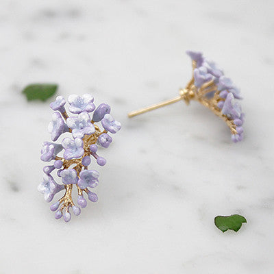 Lilac Earrings | BLOOM