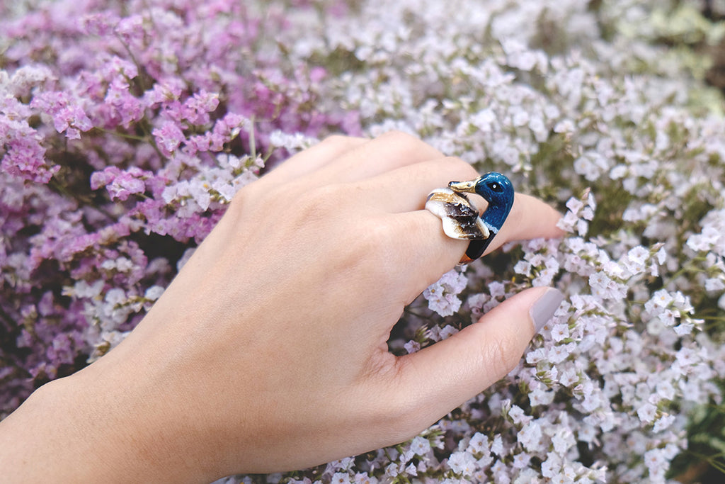Mallard Duck Ring | BALLERINE BIRD