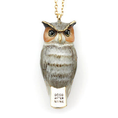 Merry | Owl Whistle Necklace