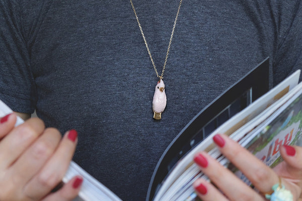 Molly Cockatoo Whistle Necklace | SKY DANCER