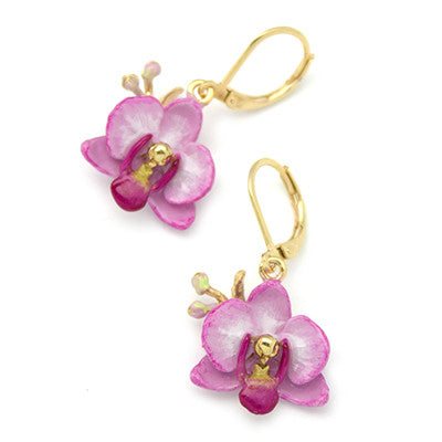 Phalaen Purple Earrings | BLOOM