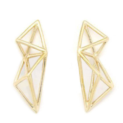 Poly Struc Earrings