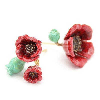 Poppy Earrings | BLOOM