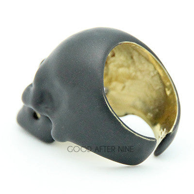 Skull Ring Black Carbon | SKULLS