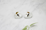 Swan Earrings // Ballerine Bird