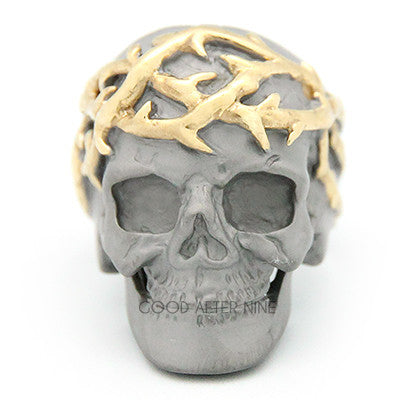 Thorn Skull Ring | ANCIENT STORY
