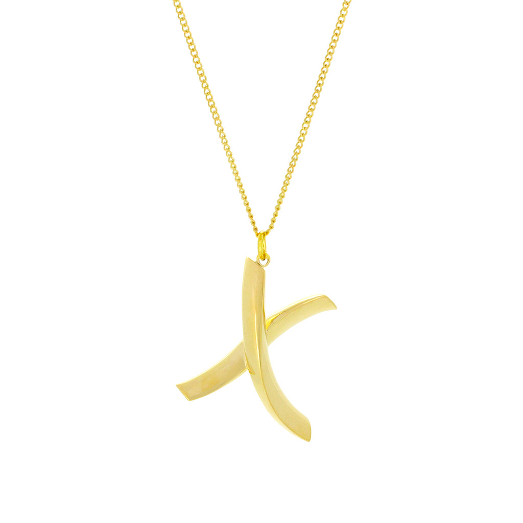 Alphabet X Necklace