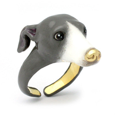Zero Italian Greyhound Ring Blue | DOGS