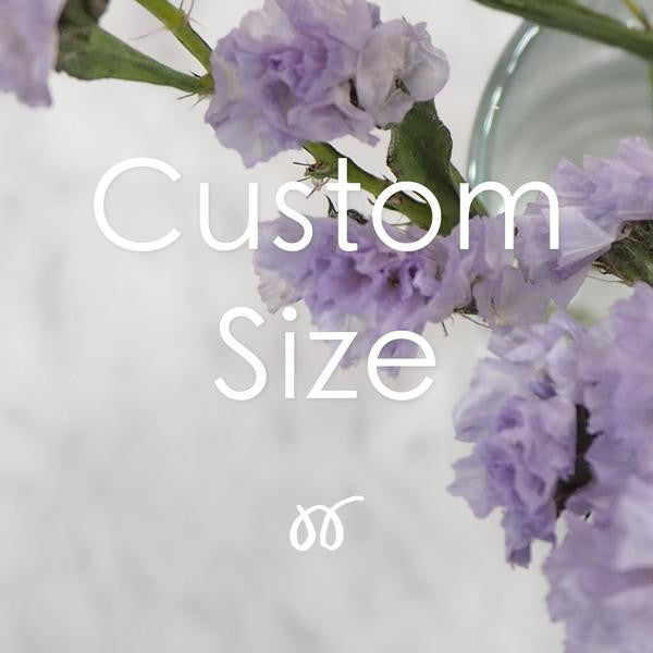 Additional option for Custom Size