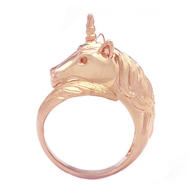 Unicorn Ring Pinkgold