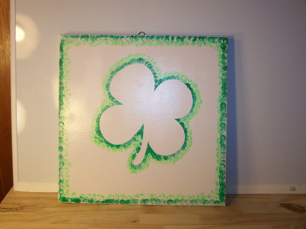 How-To Shamrock Painting