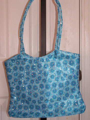 Flower Sequin Purse