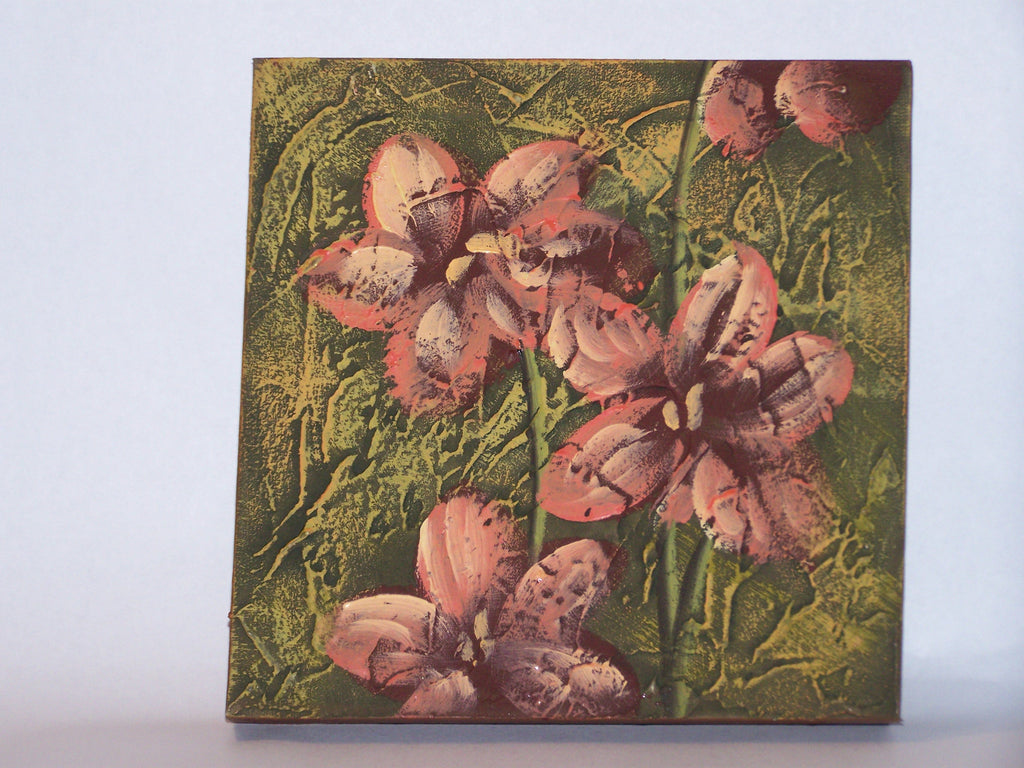 Flower Canvas (Green)