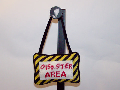 Disaster Area Hanging Pillow