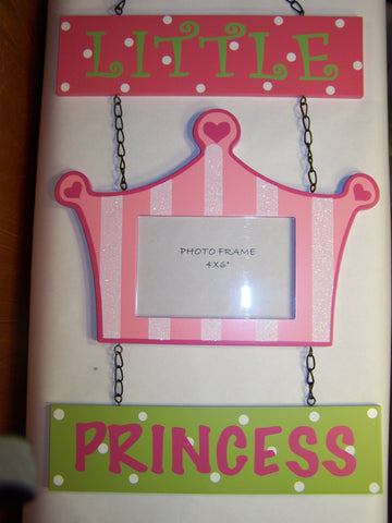 Princess Picture Frame Wall Hanging