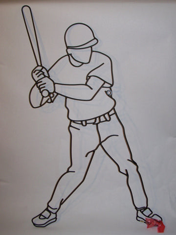 Baseball Player (metal)