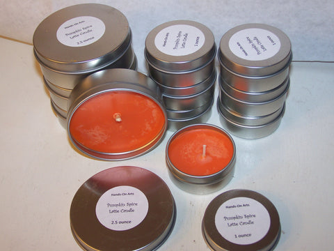 Fragrant Candle Tins